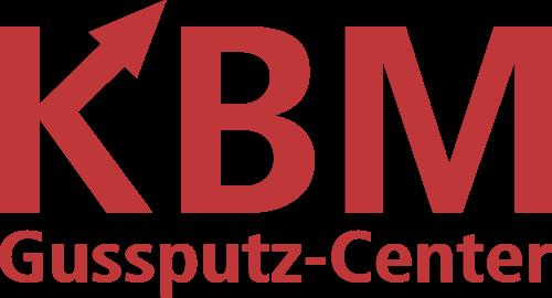 KBM Gussputz-Center & Strahltechnik Geislingen Logo