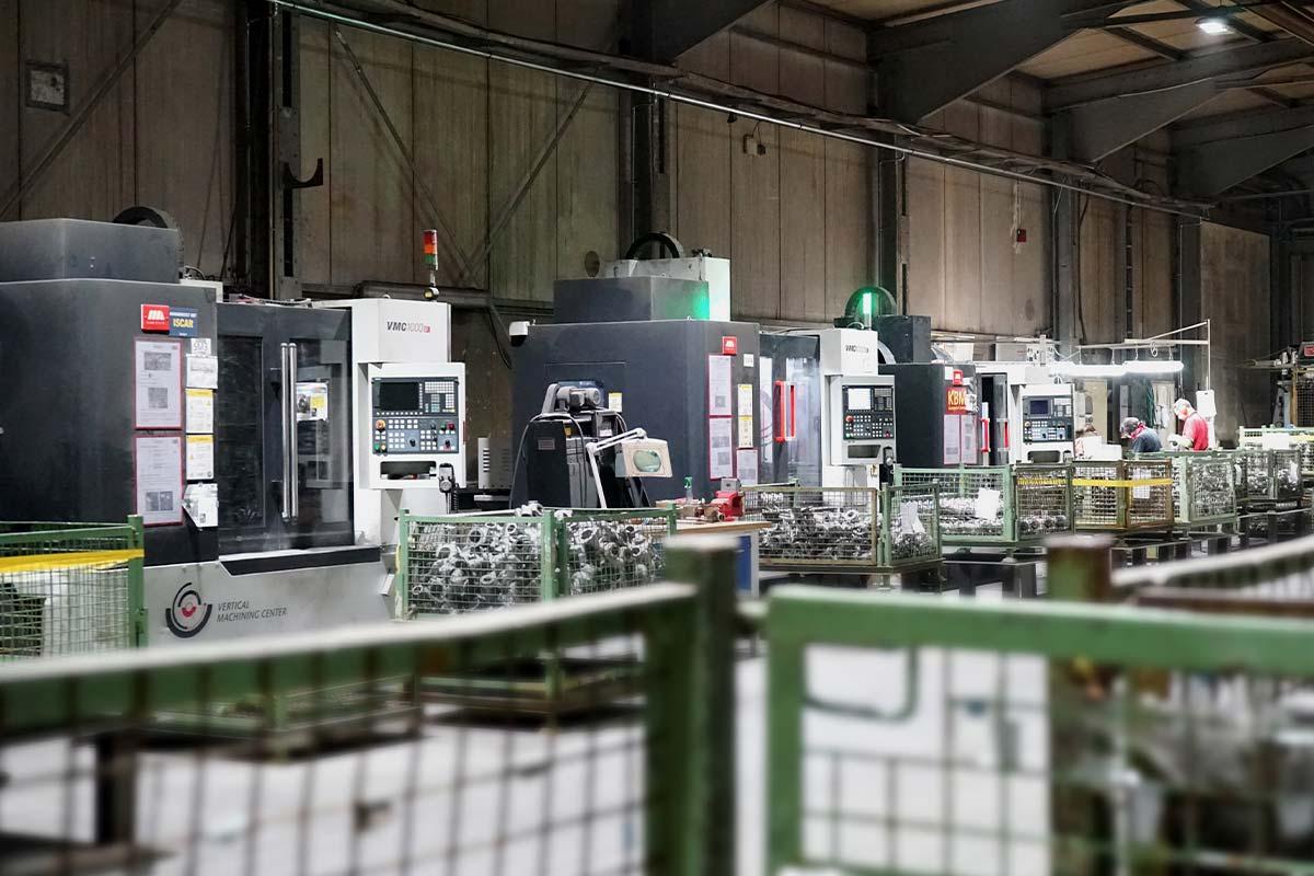 KBM Gussputz-Center Leistungen CNC-Technik